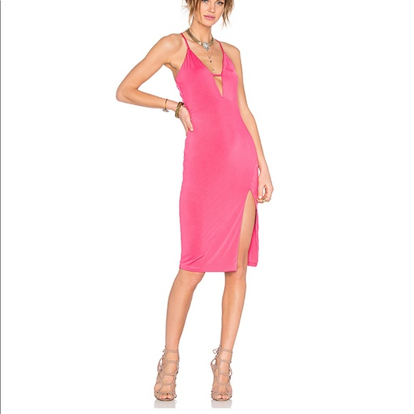 Lovers + Friends Dresses & Skirts - Lovers + Friends Heart You Dress in Rose